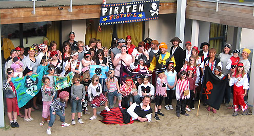 Piratenkamp, Oostduinkerke 2011