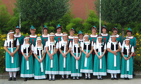 the Head group, before the start of the procession ;-)