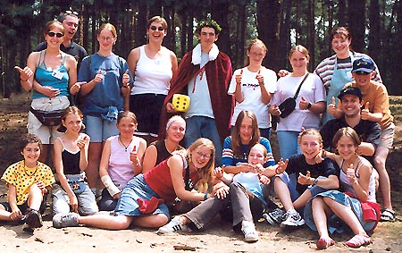 The Sint-Jansweekend in Kasterlee (2003), our Ruben as Sint-Jans-king!
